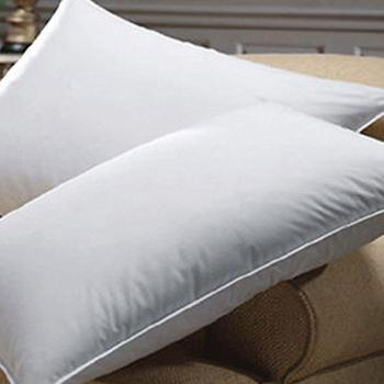 100%cotton 200TC thick microfiber filling white queen pillow
