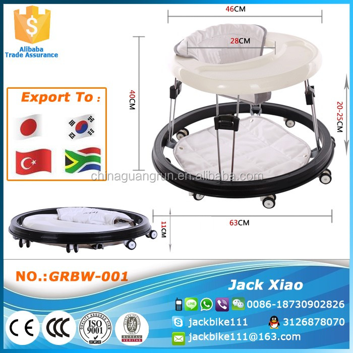 New model folding baby walker for 9 to 16 months from China
