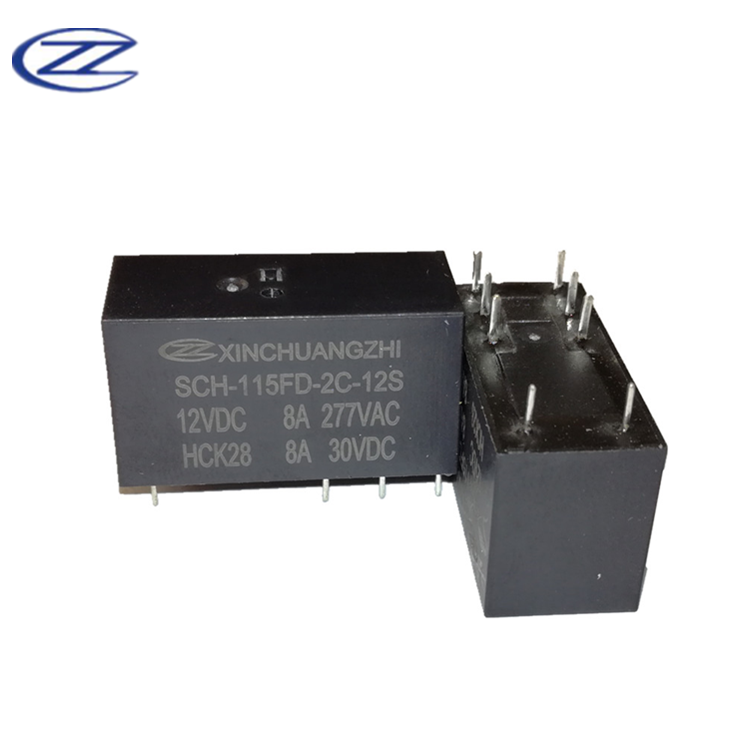 5V DC Coil 2 x TE Connectivity IM03GR DPDT PCB Mount Relay 2A