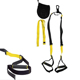 Pro 3 Suspension Trainer Kit, Commercial Grade Components with Three Types of strap training