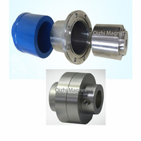 Custom made steel and magnet permanent drive magnetic dryer vent coupling