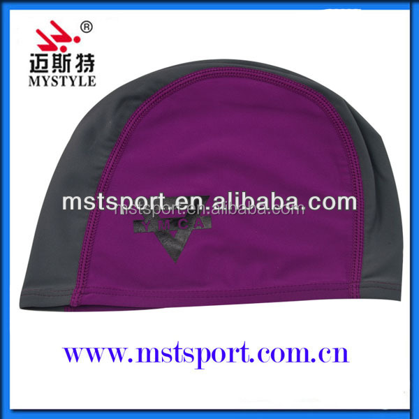 Hot sale lycra material swimming caps