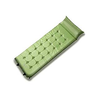 MHGAO Automatic inflatable pillow/mat/outdoor/camping/extended/thickening , green , 192693.8