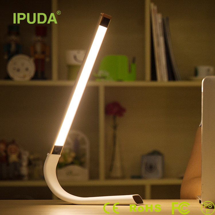Home decoration Portable Desk Lamp phone charger power bank 2000mah External Battery Mobile Charger with Table LED