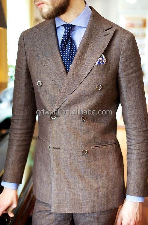 Italian Style Double Breast Men's Suits,Sexy Color Bespoke Suits ...