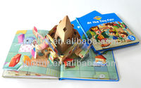 pre-school children books printing in China