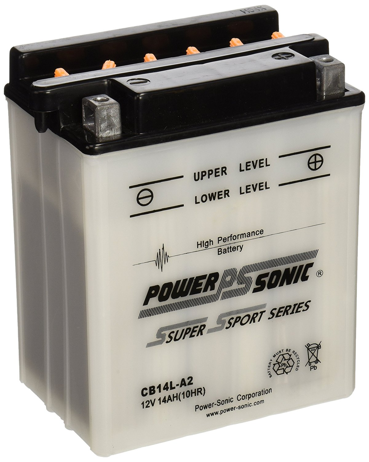 Power-Sonic CB14L-A2 Conventional Powersport Battery