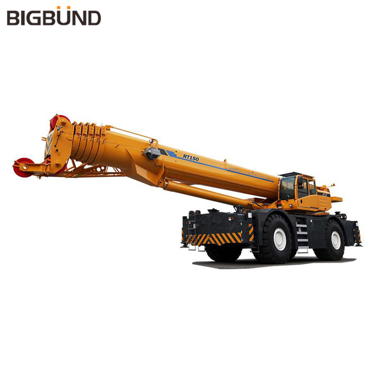 RT150 Official Original 150 Ton Rough Terrain Truck Crane price
