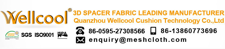 breathable and washable air flow polyester mesh fabric for chair