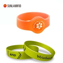RFID Wristband key fob access control for Massage and swimming pool
