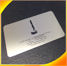 Wholesale cheap custom printed metal business card, steel business card