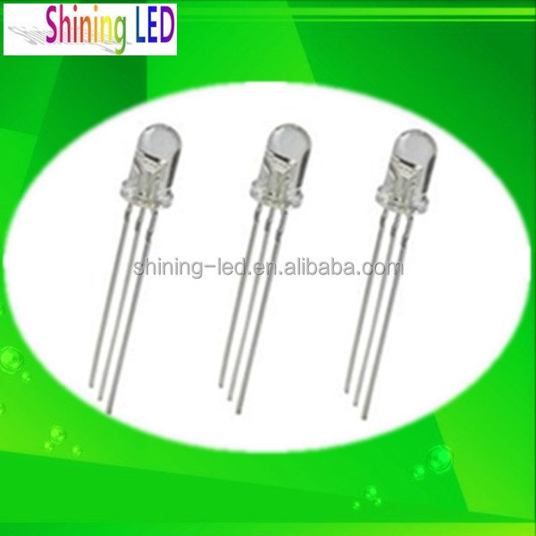 Through Hole Package Type Dip F5 4.8mm 5mm UV LED Ultra Bright 365nm 370nm 375nm