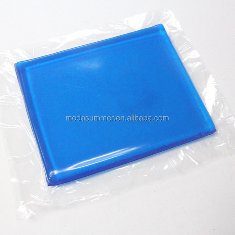China Factory 100% polyurethane Cooling motorcycle seat gel pad