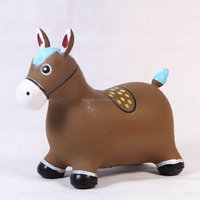 NEW Child riding horse hoppers Inflatable Bouncing animal