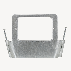 Australian Standard Flat Metal Bracket Vertical Mounting With Nails Switch Plaste Wall Switch Bracket Electrical Bracket