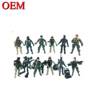 Plastic Military Model Toy Soldier Army Men Figures