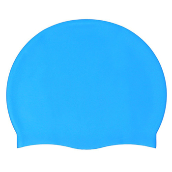Waterproof Summer Sport Promotional Silicone Swimming Cap Wholesale