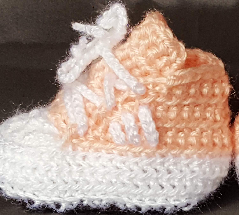 5ae2fa46a Cheap Baby Girl Crochet Booties