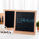 Double side Magnetic/ felt Letter Board with Changeable Letters Symbols emojis