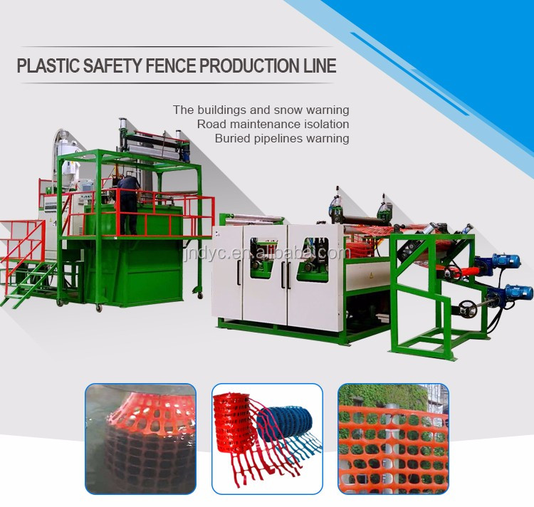 Plastic Undergroud use 30mm warning net machine