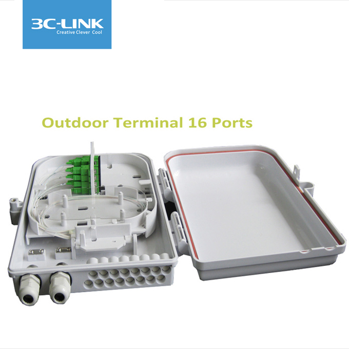ODP 16 ports outdoor fiber optic termination box