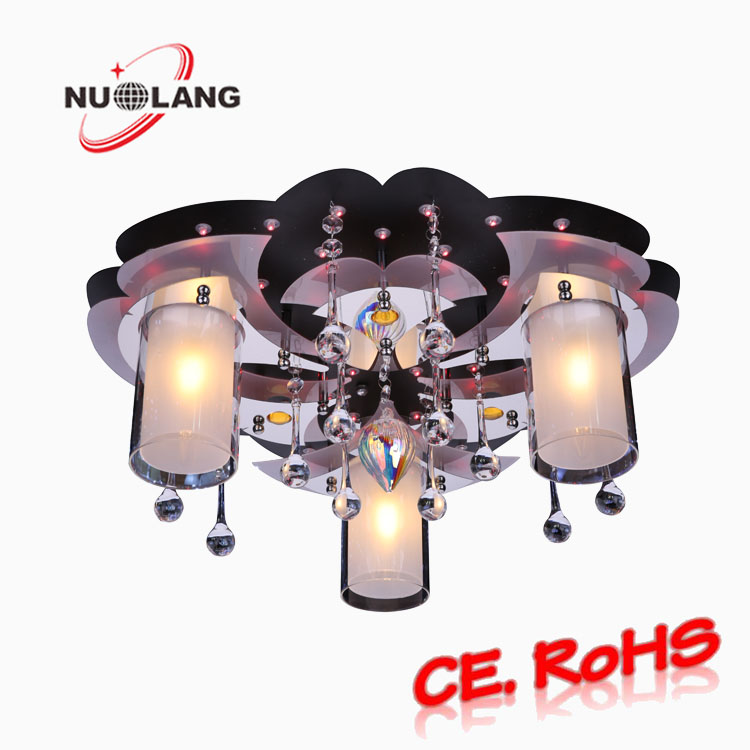 Indoor hot ceiling lighting fixture E27 glass ceiling light