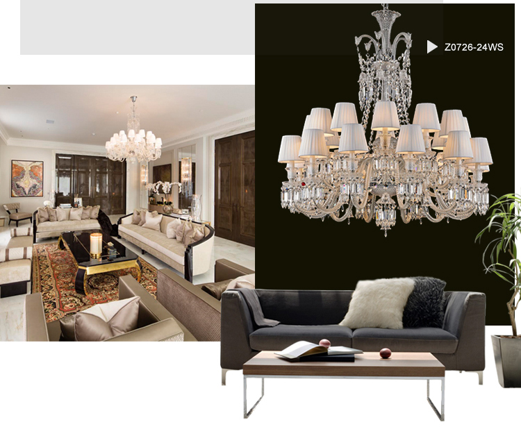 Baccarat Cristal Lighting Chandelier