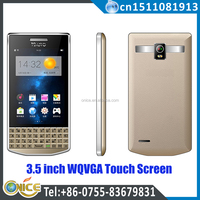 it9983 3.5 inch qwerty keyboard mobile phone dual sim touch screen gsm phone spreadtrum 6531d GPS chinese mobile phones