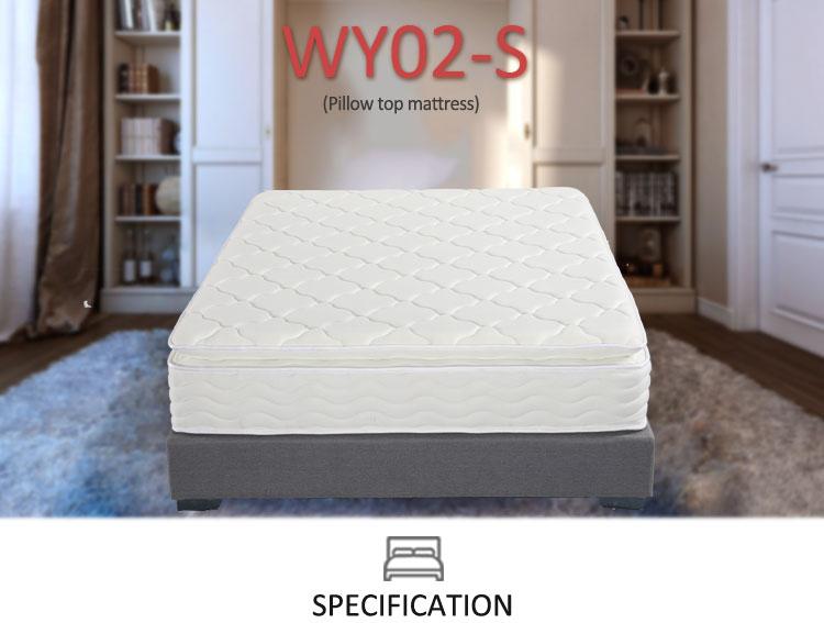 slaapkamer meubels type latex matress en traagschuim rolls