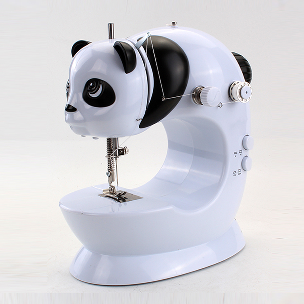 Mini Stitching Portable Toy Sewing Machine for Kids