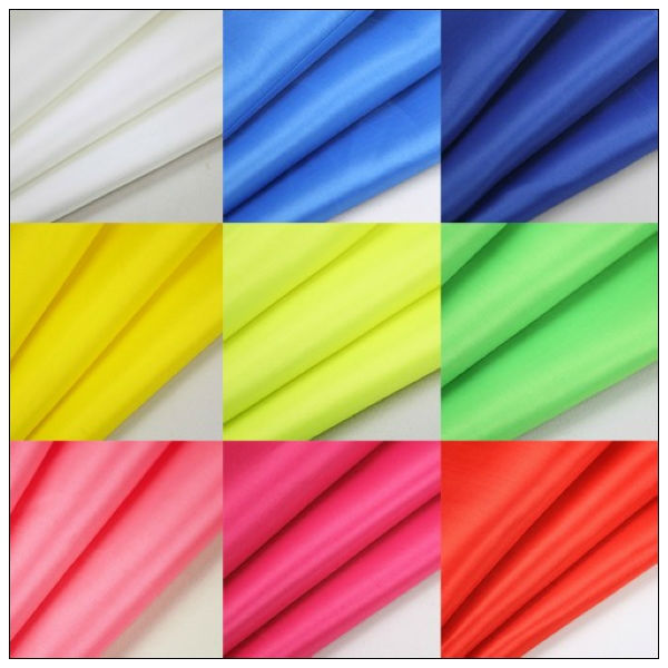 silver coating 190T polester taffeta polyester knitted fabric,silver coated fabric car awing at factory price