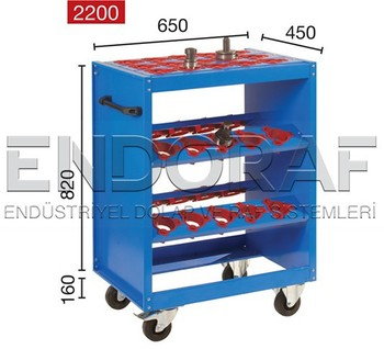 Cnc Tool Holder,mobile Trolley,cnc Cart, Cnc Tool Storage Rack, 2200