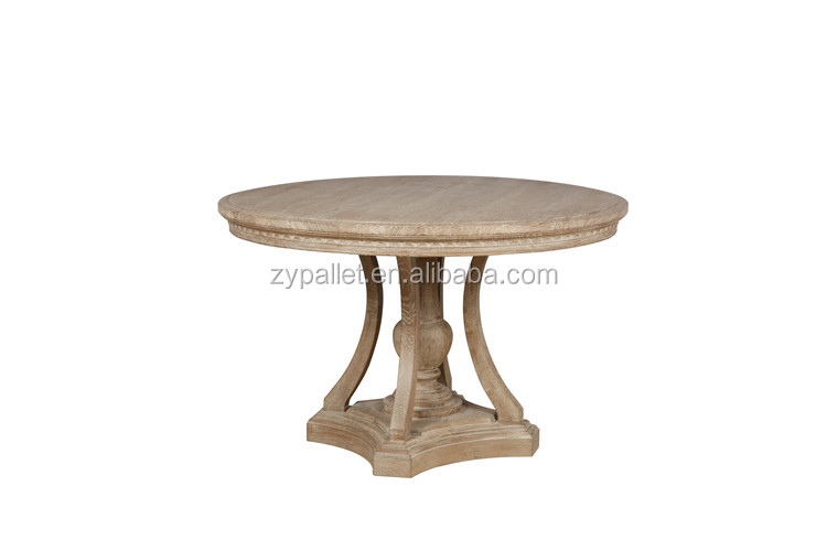 hand carved wooden dining table round hand carved wooden dining table