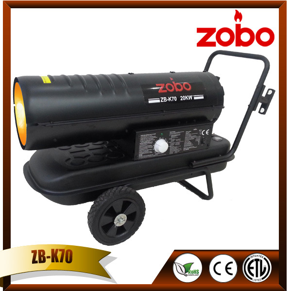 ZOBO 20KW lanair waste oil heater repair