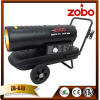 ZOBO 20KW lanair waste oil heater repair