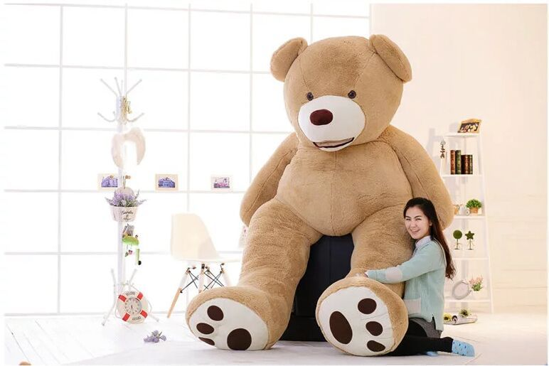 super huge lovely plush teddy bear toy new ceative super large teddy bear toy gift about