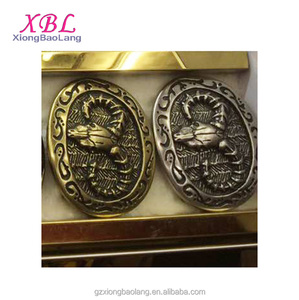 XBL Customize Antique Bronze luxury belt buckles Hollow belt parts buckle wholesale XBL- B0408