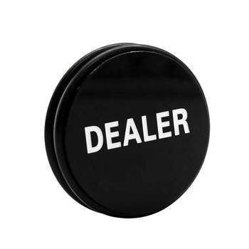Texas Wholesale Customized ABS Dealer Button Poker
