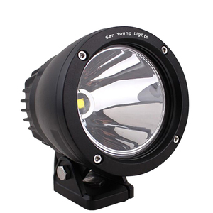 7 Inch 25W LED Work light car version 6000k x Jeep, Boat, SUV 25w led cannon work light
