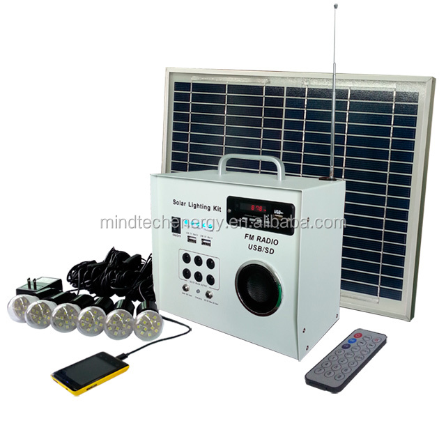 solar lighting system for indoor 5w solar package