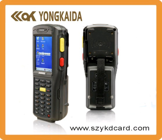 125khz wireless handheld smart card reader with bluetooth and wifi