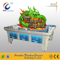 8 players Green Dragon coin machine games video game cabinet fish game machine