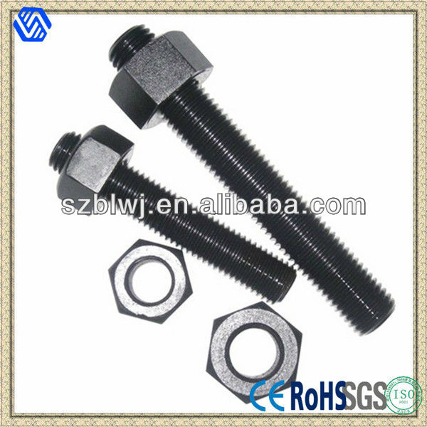 Astm A193 B7 Stud Bolt, Full Thread Stud Bolt with nuts
