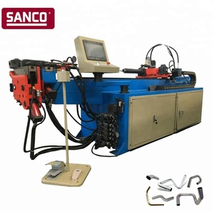 CNC Aluminum Stainless Steel Mild Steel Copper Tube Bending Machine