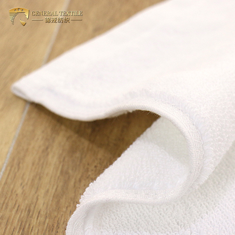 100 Cotton Customized High Quality Plain White Hotel Face Towel