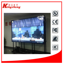 "antique indoor lcd wall video digital signage supper narrow bezel 55"" lcd video wall"