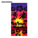 OEM print sublimation microfiber rectangle beach towels wholesale