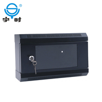 10 inch SPCC cold rolled steel wall mounted rack, mini small network cabinet