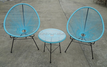 Stock Billige Gartenmöbel Im Freien Rattan Stühle Tisch Zum Verkauf