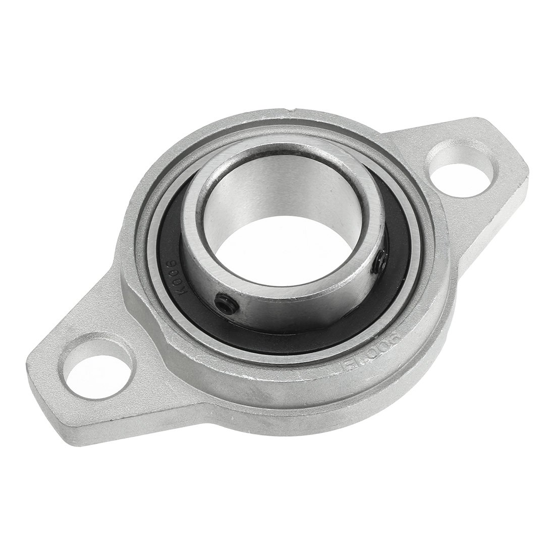 uxcell KFL006 30mm Zinc Alloy Self Aligning Pillow Block Flange Bearing